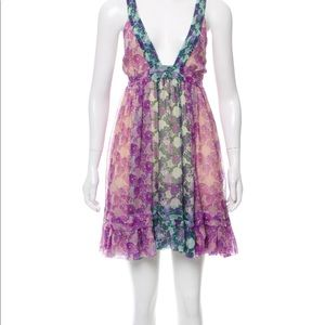 Roberto Cavalli Stunning babydoll silk dress